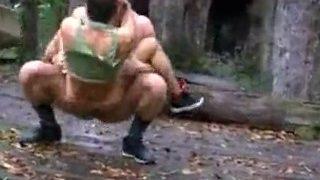 Diese beiden Gay Soldaten ficken sich Verdammt hart