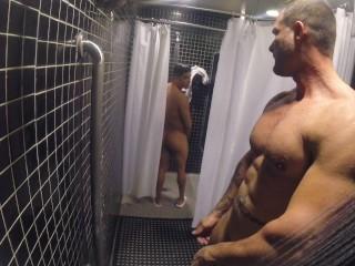 Öffentlicher Pool Dusche Ficken