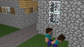 Geiler Minecraft Gay Sex zwischen Steve und Steve